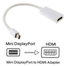 Mini DP to HDMI Cable Converter Adapter Mini DisplayPort Display Port DP to HDMI Adapter For