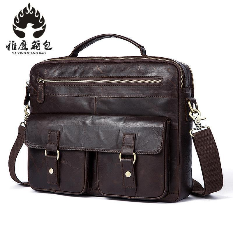 Genuine Leather Men Bags Hot Sale Male Small Messenger Bag Man Fashion Crossbody Shoulder Bag Men's Travel New Bags hot 2017 genuine leather bags men high quality messenger bags small travel black crossbody shoulder bag for men li 1611