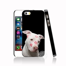 Pitbull dog cell phone Cover case for iphone 6 4 4s 5 5s SE 5c 6 6s 7 8 plus case for iphone 7 X