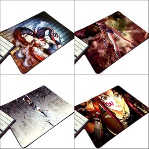 Mairuige So Sexy Beautiful Girls Revy Anime Gangster Comic Black Lagoon Pattern Picture Printed Mousepad Mini Pc Rubber Mat Pad(China)