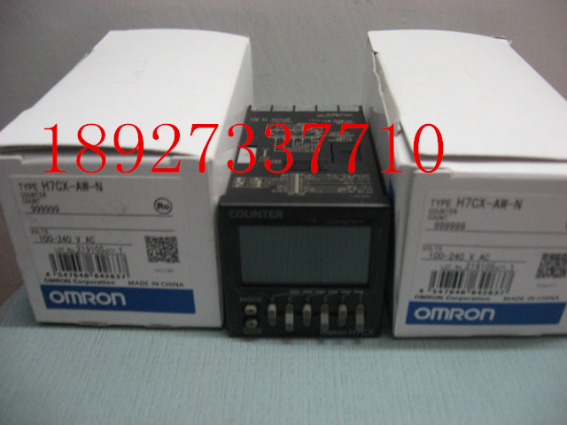 [ZOB] Supply of new original Omron omron digital counter H7CX-AW-N factory outlets relay [zob] supply of new original omron omron photoelectric switch e3z t61a 2m factory outlets 2pcs lot
