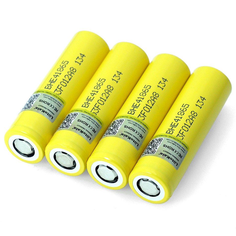 New liitokala original 3.7 V <font><b>18650</b></font> HE4 2500 mAh battery power 20A 30A discharge Electronic special lithium battery image