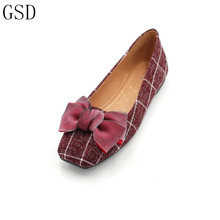 hot deal buy fashion  women's shoes comfortable flat shoes  new arrival -gs a14  flats shoes large size shoes women  flats
