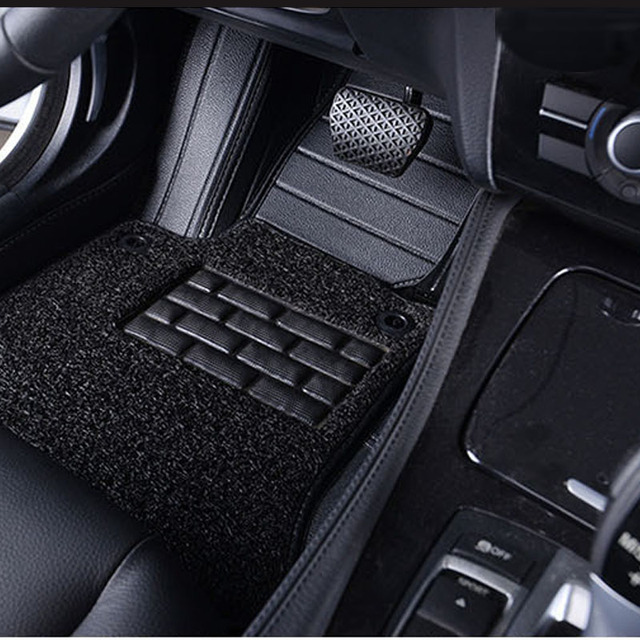 Car Floor Mats For Ford F  Black Beige Grey Brown
