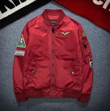 Yizlo luftwaffe jacken männer casaco ma1 bomberjacke streetwear jaqueta masculina frühling herbst USA pilot jacke anorak
