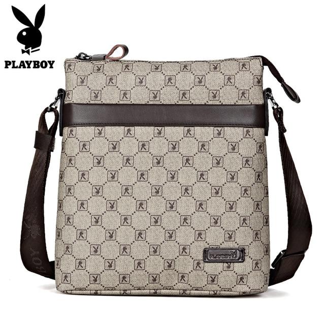 Male Handbag High Quality Business Men S Bag Messenger Bags Leather Crossbody Shoulder