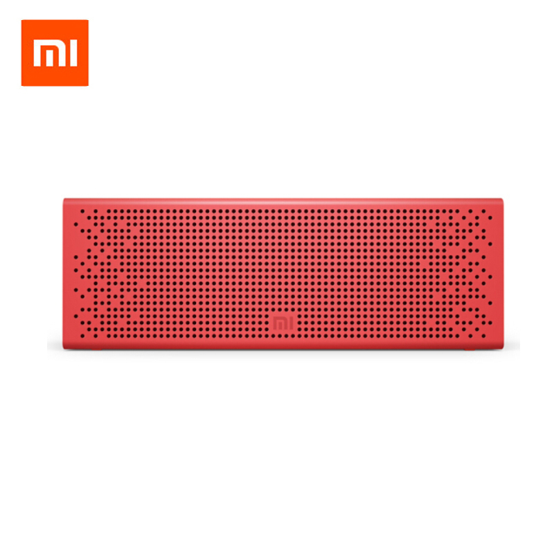Original Xiaomi Mi Bluetooth 4.0 Speaker Micro SD Aux in Wireless Handsfree Call Stereo Portable Mp3 Play Aluminum Frame Speaker