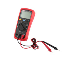 Digital Multimeter UNIT DC/AC Voltage Current Meter Handheld Ammeter Ohm Diode NCV Tester 4000 Counts Multitester No Contact