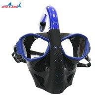 15% Professional Diving Mask Scuba Snorkel Swimming Goggles Dry Snorkel Tube Set Men Women Anti fog Diving Goggles for Camera