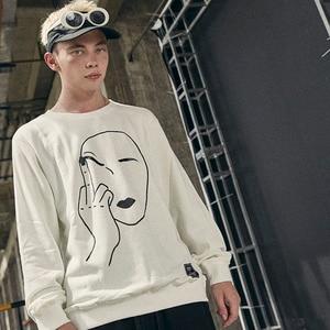 Image 5 - ตลกSweatshirt Streetwearพิมพ์ลายนิ้วมือผู้ชายHip Hop Pulloverเสื้อHoodie 2020 ฤดูใบไม้ร่วงฤดูใบไม้ร่วงไม่มีHoodผ้าฝ้าย