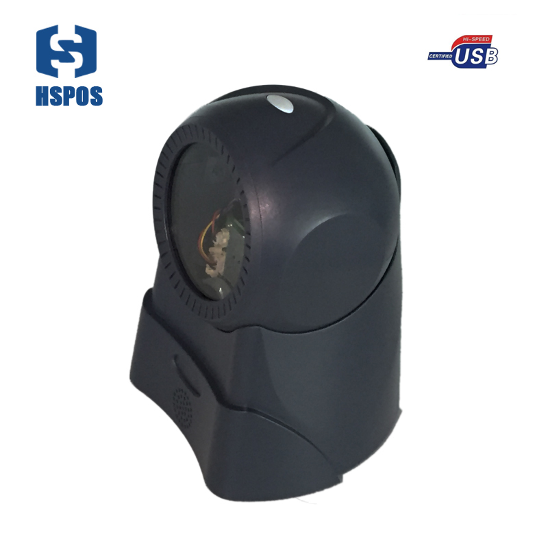100 lines omnidirectional laser barcode scanner fast and accurate in reading all ID codes high speed decoder chip with IP42 the codes guidebook for interiors