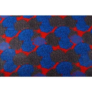 Image 5 - Royal Real Cloth Wax Tissu 100% Cotton High Quality Africa Ankara Prints Batik Fabric Sewing Material For Wedding Dress 6yards
