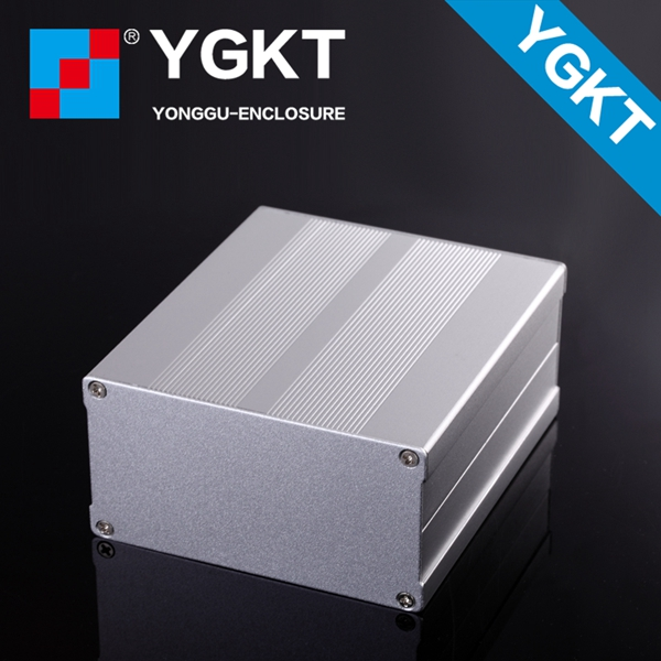 106*55-150 mm (wxhxl) Small Extruded Aluminum Enclosure For PCB preamp enclosure / waterproof small box 152 44 130 mm wxhxl aluminum extruded electronic housing box as per customer s drawing