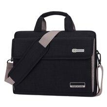 Unisex 6 kolory Big Capacity Nylon 13.3 14 15.6 Cal torba na Laptop Notebook ochronna skrzynki pokrywa torby komputerowe