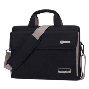 Image 1 - Unisex 6 renkler büyük kapasiteli naylon 13.3 14 15.6 inç Laptop çantası dizüstü koruyucu kılıf kapak bilgisayar çantaları