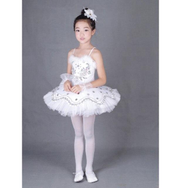 43fbd9d27b55 Yellow  Pink Ballet Leotard Dress Girls Cute Ballet Dance Practice ...