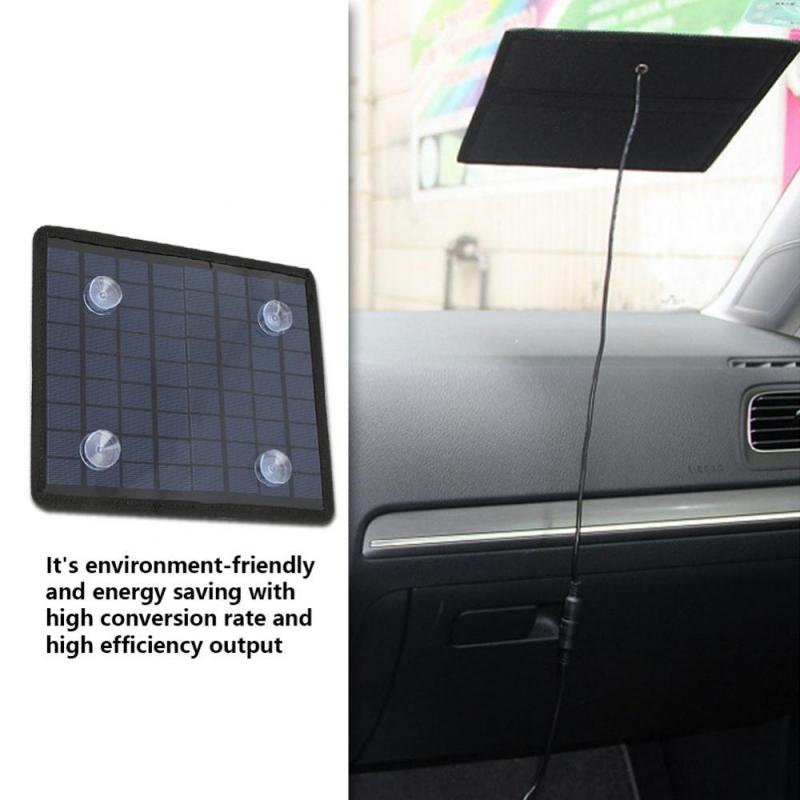 5.5W Polysilicon Solar Panel 18V Portable Solar Panel DIY Power Charger for Car Boat Automobile 12V Battery Solar Panel