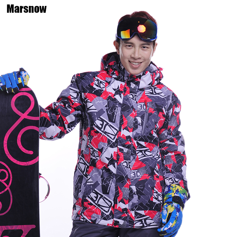 Dropshipping skiing jacket male Free shipping thicken warm waterproof windproof clothing snowboard coat snow jacket for mens