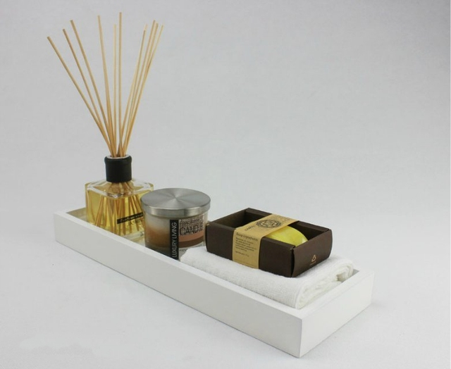 simple and stylish bathroom ornaments piano sample room luxury accessories wood pallets papaya soap candle sets