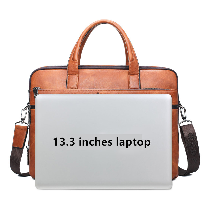 779c78e05f ... Leather Office Bags Totes Male Shoulder Bag Messenger Bag Crossbody Bag  Handle Bags. 1 2 3 4 5 6