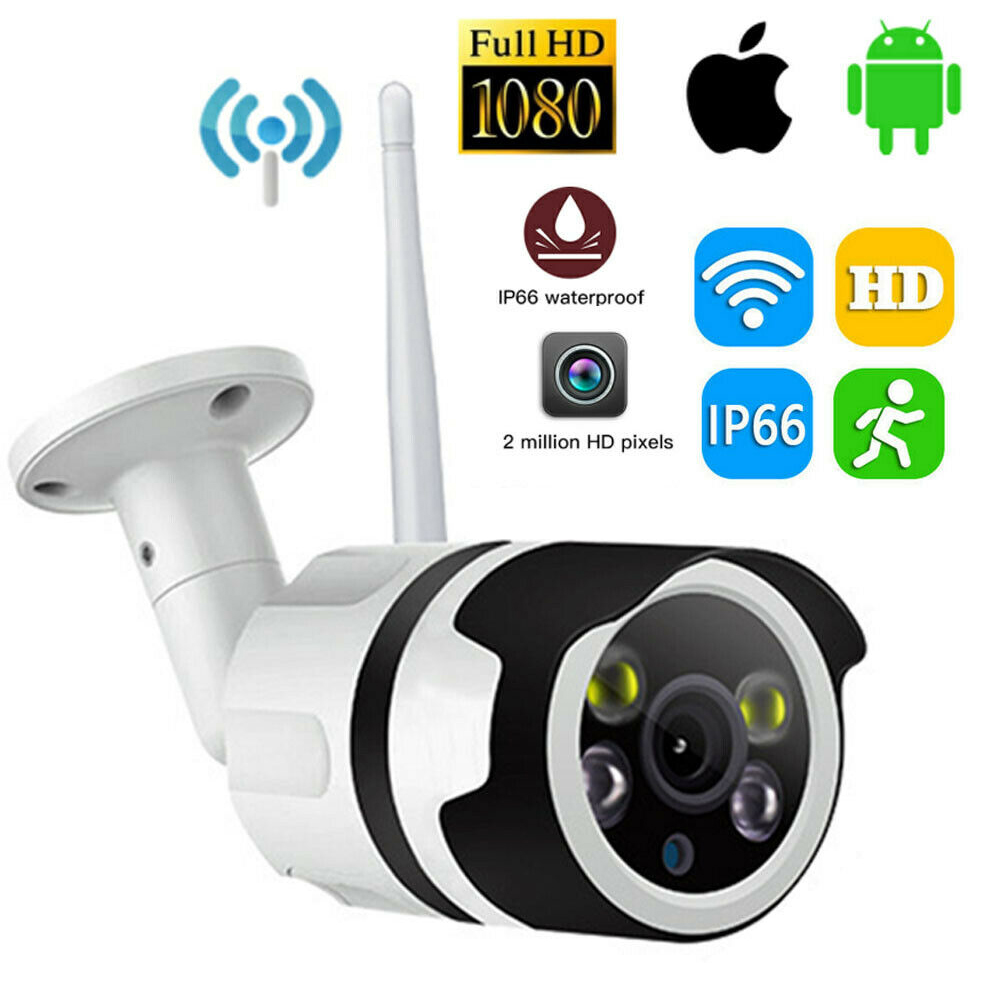 Wireless IP Camera Wifi 1080P CCTV Security Surveillance Outdoor Waterproof  Network Cam Support Micro Sd Slot Ipcam IR Night