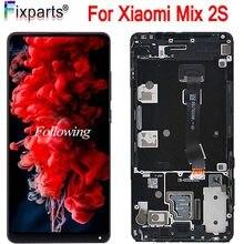 100% nouveau pour Xiaomi Mix 2S Mix2S LCD écran tactile numériseur assemblage panneau en verre avec cadre pour Xiaomi Mi Mix 2S + outils