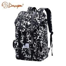 Douguyan женщины рюкзак женский черный Цветочный принт женские Рюкзаки для подростков книги мешок для девочек Bagpack моды новая сумка G00286