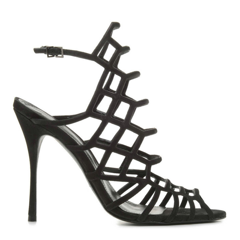 918d1fd9a5dc83 Top Fashion Sexy Hollow Woman Shoes New Designer Thin High Heels Thong  Sandals Roman Style Summer Party Dress Chaussure Femme-in Women s Pumps  from Shoes on ...