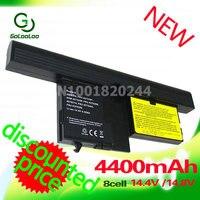 Golooloo 4400 mAh Pin Máy Tính Xách Tay cho Lenovo ThinkPad X61 X60 Tablet PC 40Y8314 40Y8318 42T5209 42T5204 42T5206 42T5208 42T5251