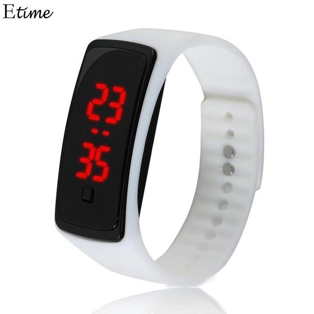 Sporting Children Watch LED Digital Wrist Watch Wristwatch Outdoor Sports Electr