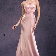 Long Formal Women s Dress Elegant Mermaid Backless Pink Satin Mother of the Bride Dresses vestido