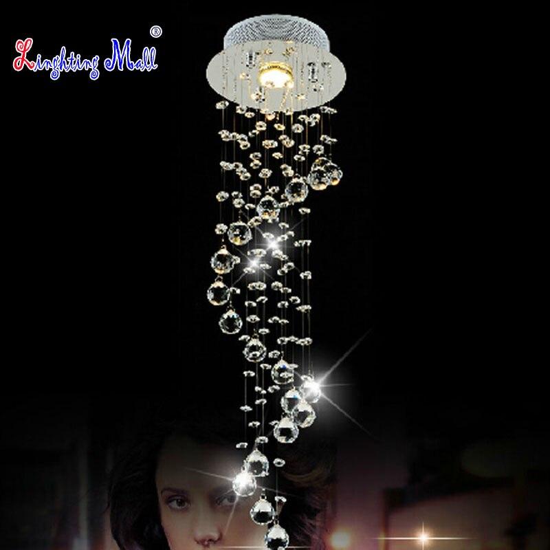 w k9 crystal ceiling lamp modern spiral led chandelier lighting corridor floor lamp indoor lighting home chandelier floor lamp home lighting