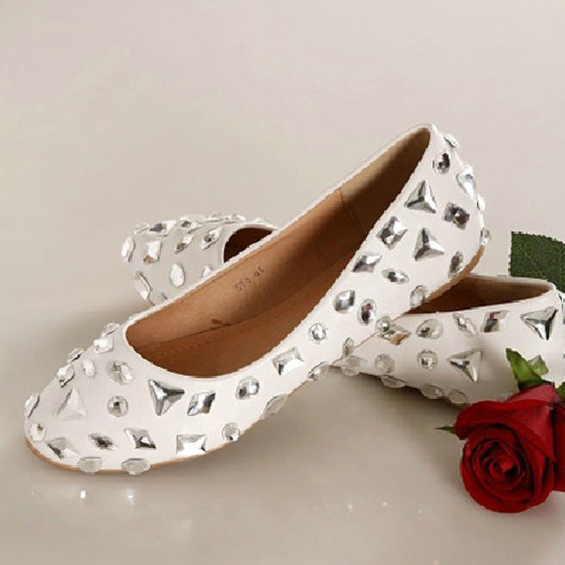 Nice Charming Woman Spring Shoes Crystal Wedding Dress Shoes Bridal Dress Shoes Banquet Party Prom ShoesNice Charming Woman Spring Shoes Crystal Wedding Dress Shoes Bridal Dress Shoes Banquet Party Prom Shoes