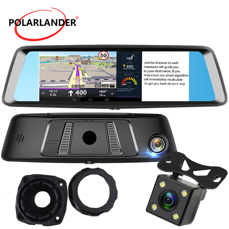 A8 7 DVR 4G Android G SENSOR Rearview Mirror Bluetooth GPS MP5/MP4/RMVB/Flash Camera Video Drive Recorder WiFi Touch Screen