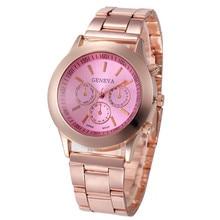 Women Watch  Fashion Stainless Steel Sport Quartz Hour Wrist Analog Watch  relogio feminino dropshipping free shipping  #60