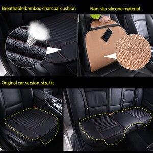 Image 5 - Autos Sitzbezüge Leder Sitz Abdeckung Kissen Universal Auto Seat Protector Kissen Sets Innen Stuhl Matten Pad Zubehör