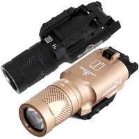 500 Lumens LED strobe Weapon light Tactical X300V Pistol Flashlight Glock Handgun Airsoft Picatinny rail X300 series