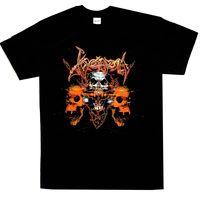 Venom Skulls Shirt S 3XL Black Metal T Shirt Official Band Tshirt New Pre Cotton T