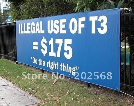 Outdoor Fence Scrim Banner Sign