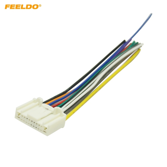 feeldo 1pc car stereo wiring harness adapter plug for subaru legacy rh aliexpress com