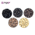 Angels 1000pcs 4.0*2.8*6.0mm Silicone Copper Micro Rings/Tubes Hair Extension Tools Microlinks Hair Beads for Dreadlocks