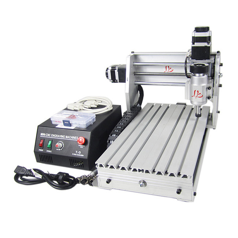 DIY cnc mini 3020 3axis 230W milling machine for woodworking with Mach3 softwareDIY cnc mini 3020 3axis 230W milling machine for woodworking with Mach3 software