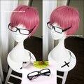 Новое поступление серафим конца Owari нет серафим Shiho Kimizuki короткий прямой аниме косплей + черные очки дополнительно