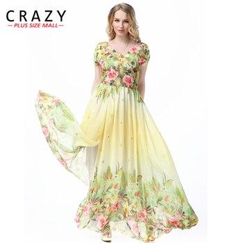 0f512fce2f 101.02 zł. Duży rozmiar L-7XL w stylu czeskim letnia sukienka 2019 Plus  rozmiar Sexy dekolt w serek ...