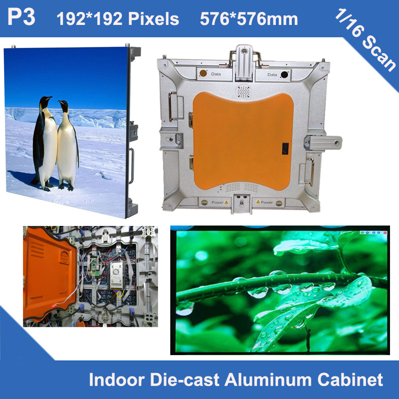 TEEHO P3 led video screen Diecasting Cabinet 576mm*576mm slim 1/16 scan led module cabinet  indoor video led dot display rentalTEEHO P3 led video screen Diecasting Cabinet 576mm*576mm slim 1/16 scan led module cabinet  indoor video led dot display rental