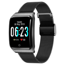 F9 1.3 Cal moda inteligentna bransoletka kolorowy ekran Ip68 wodoodporna inteligentny zegarek z krokomierzem monitor aktywności fizycznej smart watch