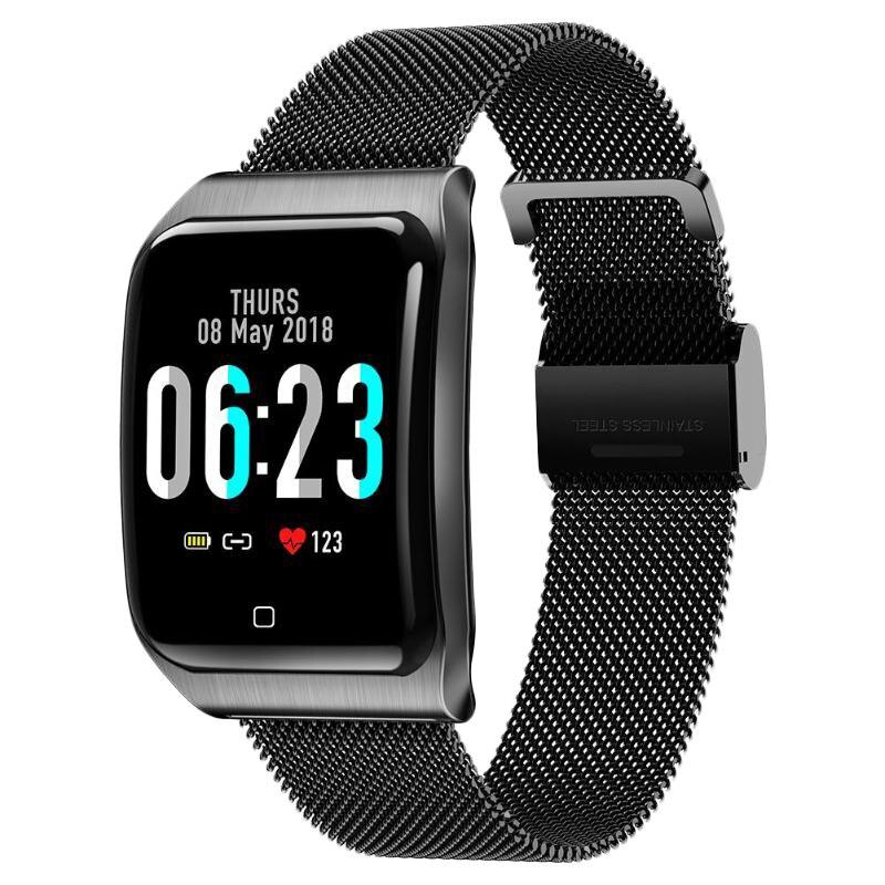 F9 1,3 дюймов модный умный Браслет цветной экран Ip68 Водонепроницаемый Шагомер Смарт часы фитнес трекер Смарт часы-in Смарт-часы from Бытовая электроника