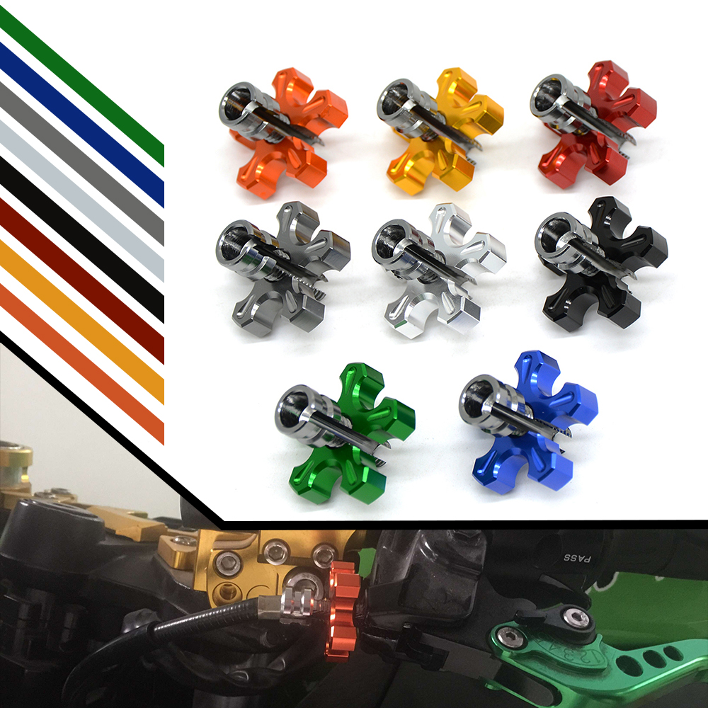 CNC Aluminum Universal motorcycle Dirt Bike brake clutch wire adjustment cable for HONDA PCX 125/150 PCX125 PCX150 MSX MSX125