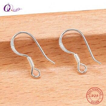 52601758a447 Venta al por mayor 13mm 10 unids pack 925 alambres de orejas de plata  esterlina ganchos primavera cierres para hacer pendientes joyería Accesorios