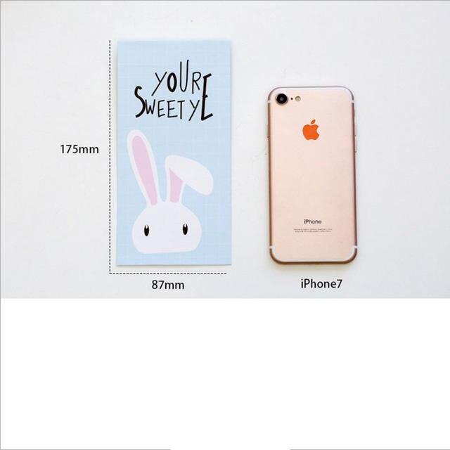 Online Shop 4pcs/lot Cute rabbit envelopes letterhead office writing - birthday letterhead